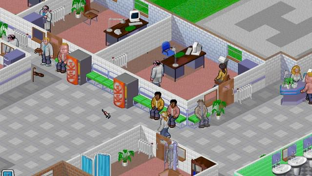 Shadow game: theme hospital full review (pc and ps1 game).