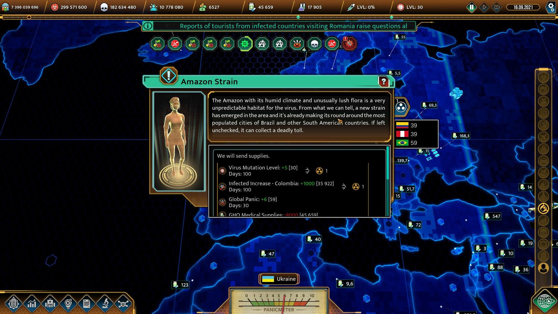 COVID: The Outbreak screenshot 1