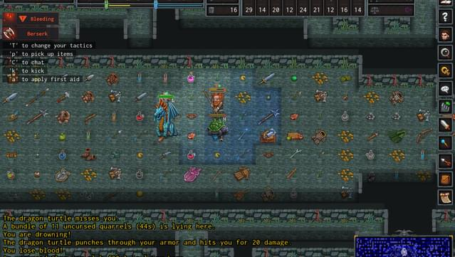 ADOM (Ancient Domains Of Mystery) screenshot 2
