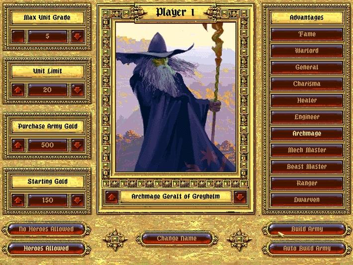 Fantasy General screenshot 2