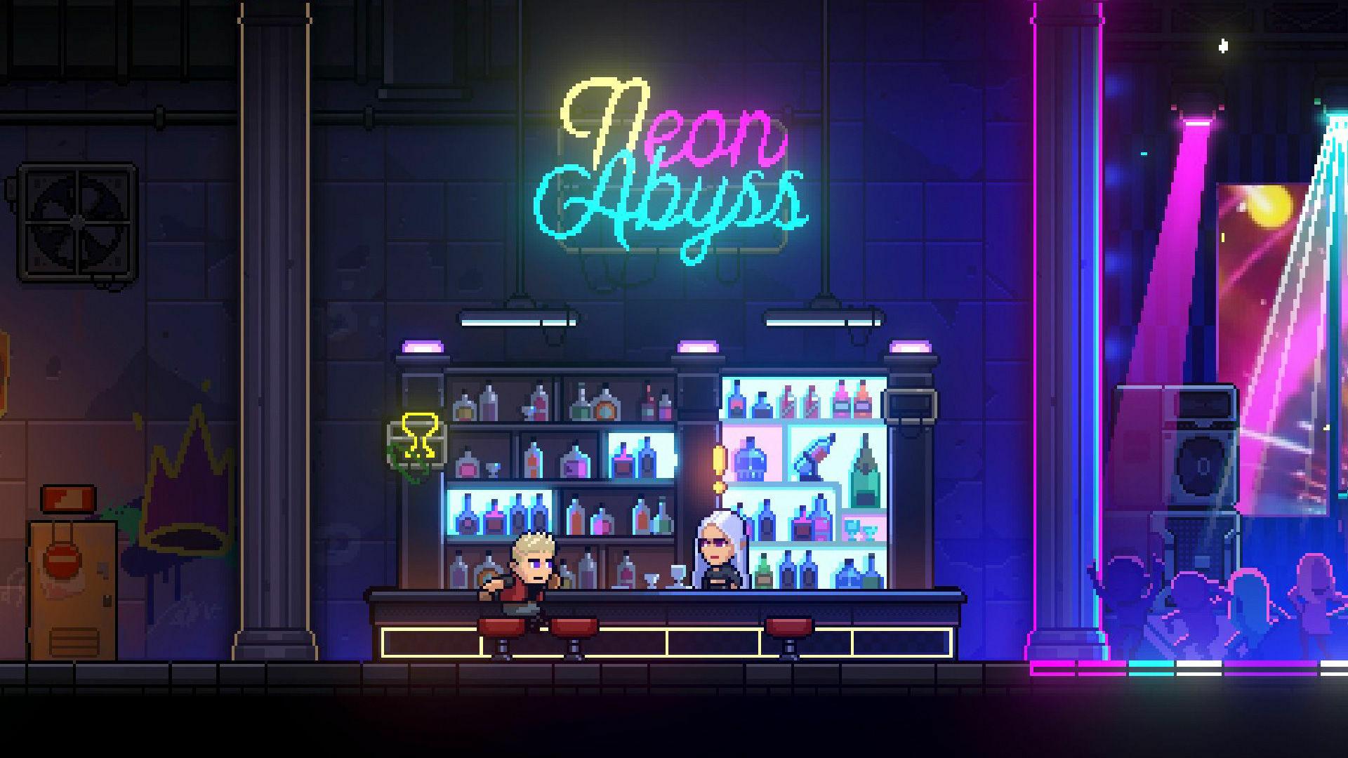 Neon Abyss screenshot 1