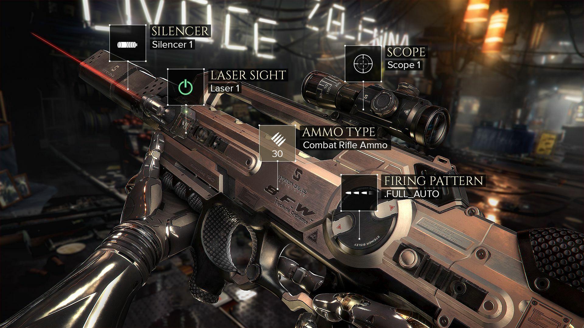 Deus Ex: Mankind Divided - Digital Deluxe Edition screenshot 1
