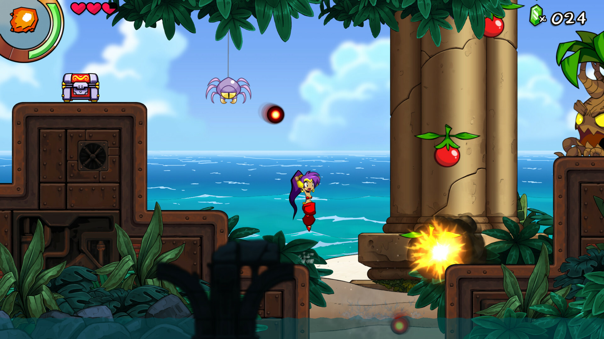 Shantae and the Seven Sirens screenshot 1
