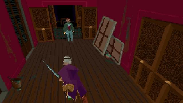 alone in the dark 1992 controls