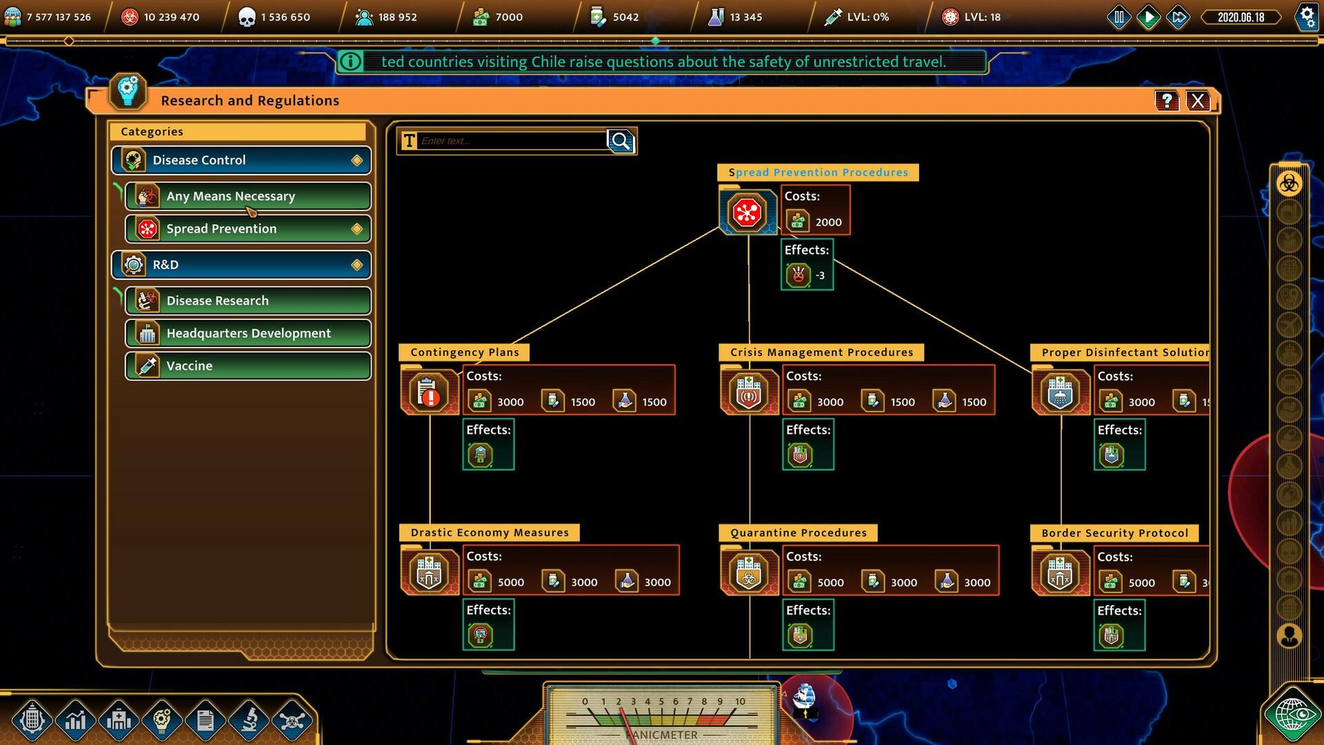 COVID: The Outbreak screenshot 2