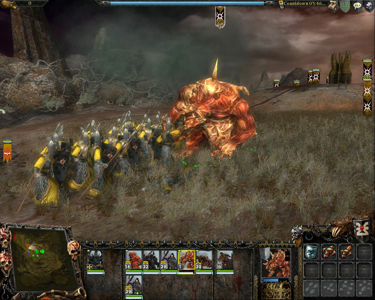 Warhammer: Mark of Chaos - Gold Edition screenshot 1
