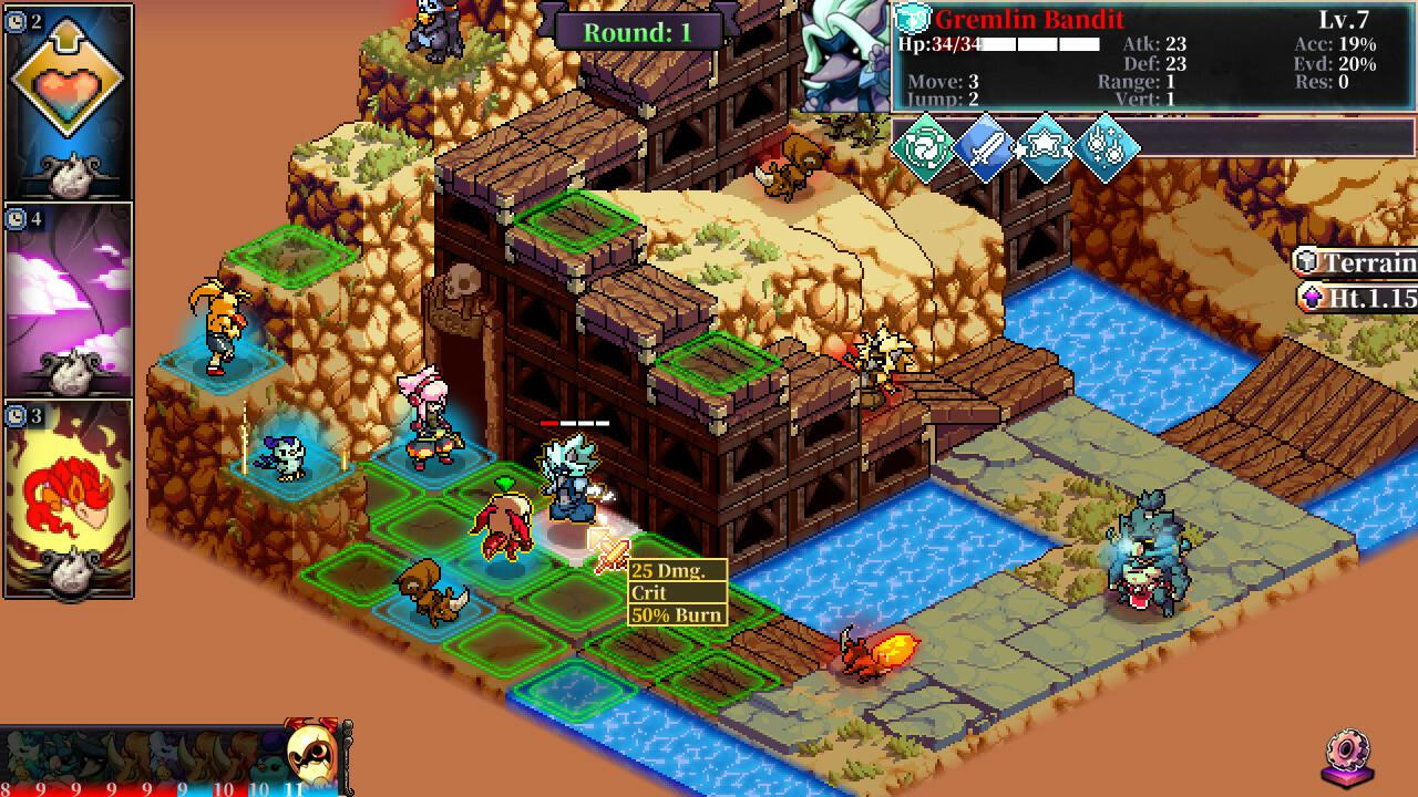 Fae Tactics screenshot 2