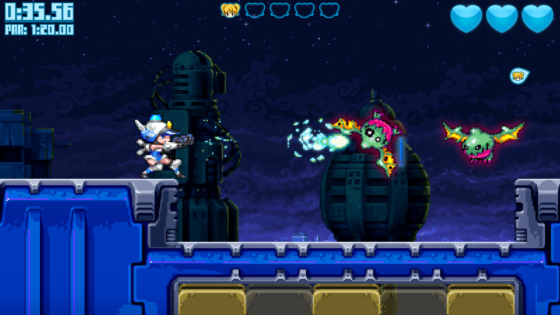 Mighty Switch Force! Collection screenshot 1