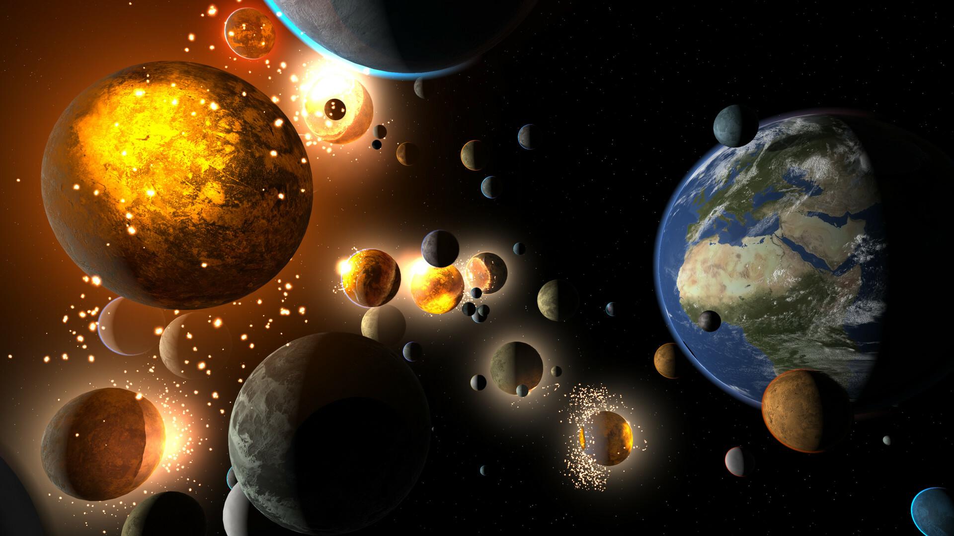 Universe Sandbox screenshot 1