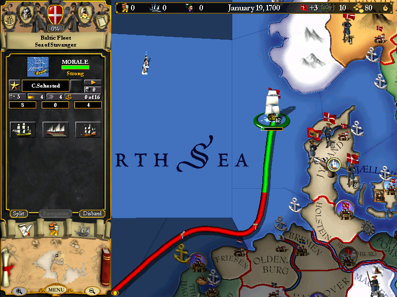 Europa Universalis I screenshot 3