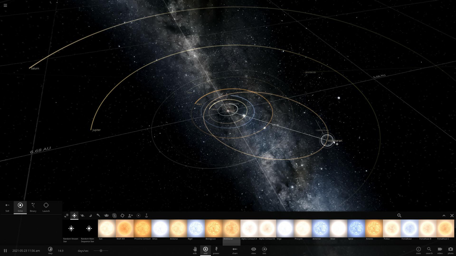 Universe Sandbox screenshot 2