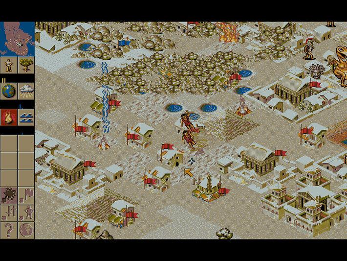 Populous 2 screenshot 2