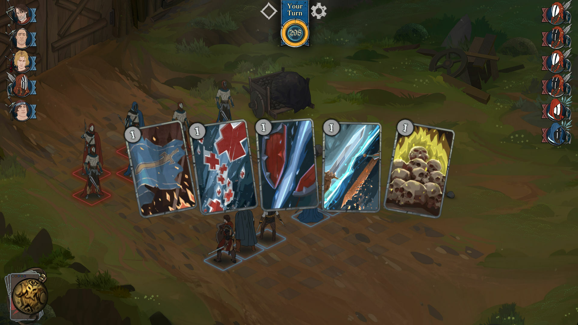 Ash of Gods: Redemption screenshot 3
