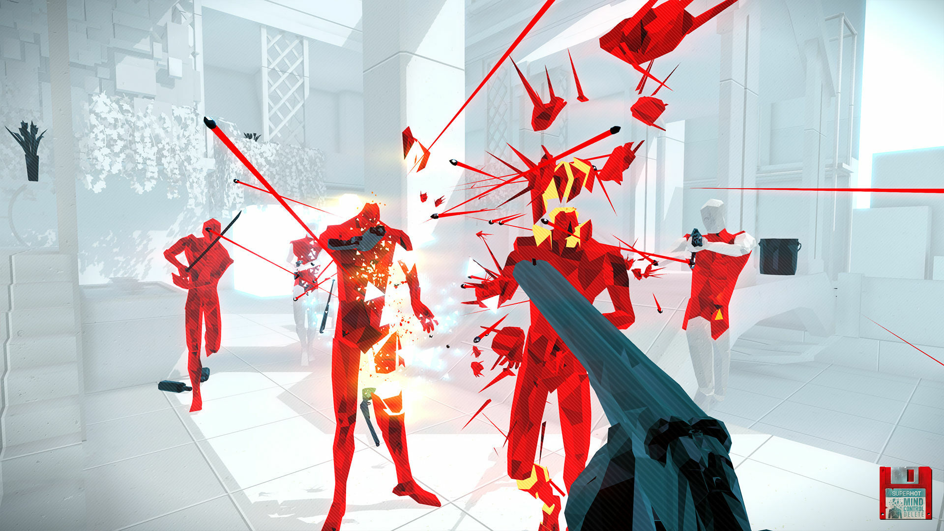 Superhot: Mind Control Delete screenshot 1