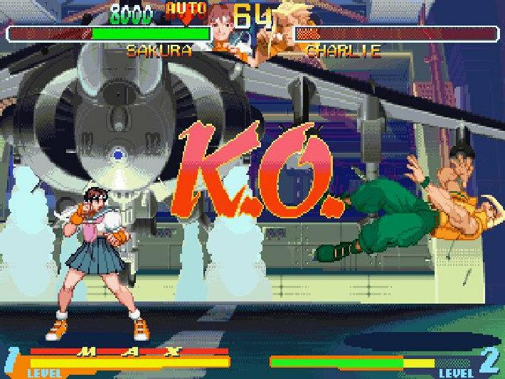Street Fighter Alpha 2 screenshot 3