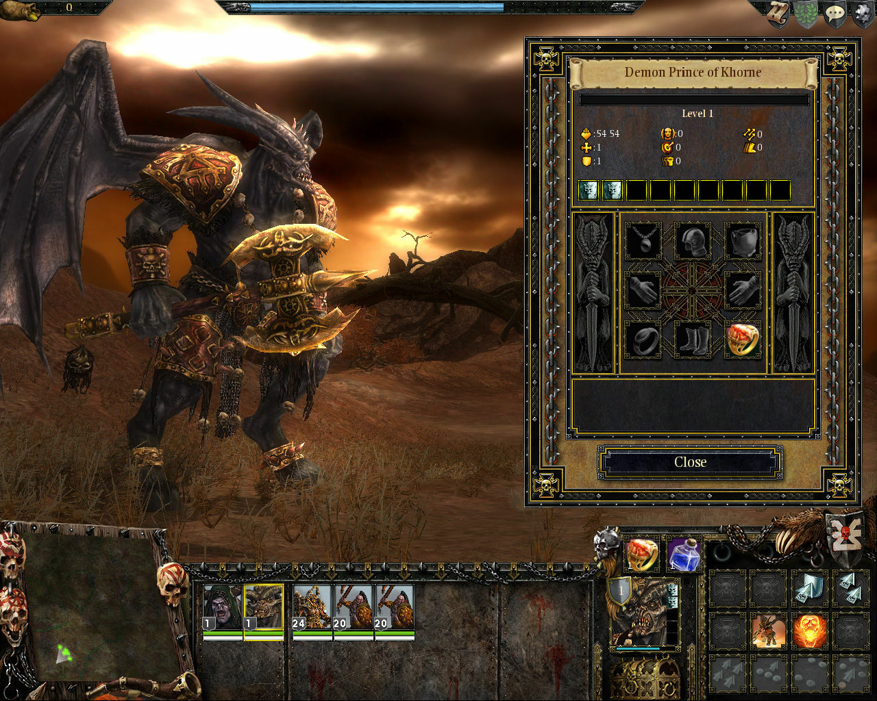 Warhammer: Mark of Chaos - Gold Edition screenshot 2