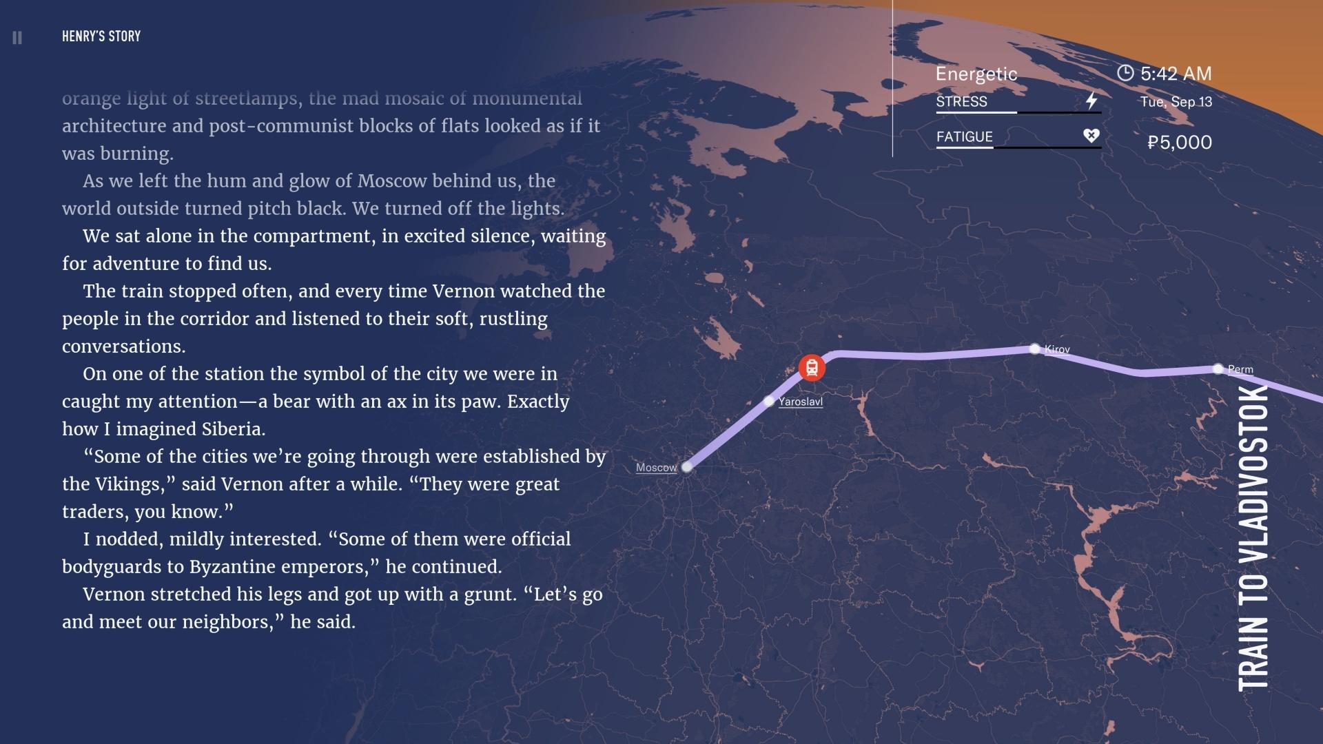 Wanderlust: Transsiberian screenshot 3