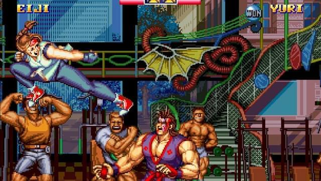 Art of Fighting 2 screenshot 2