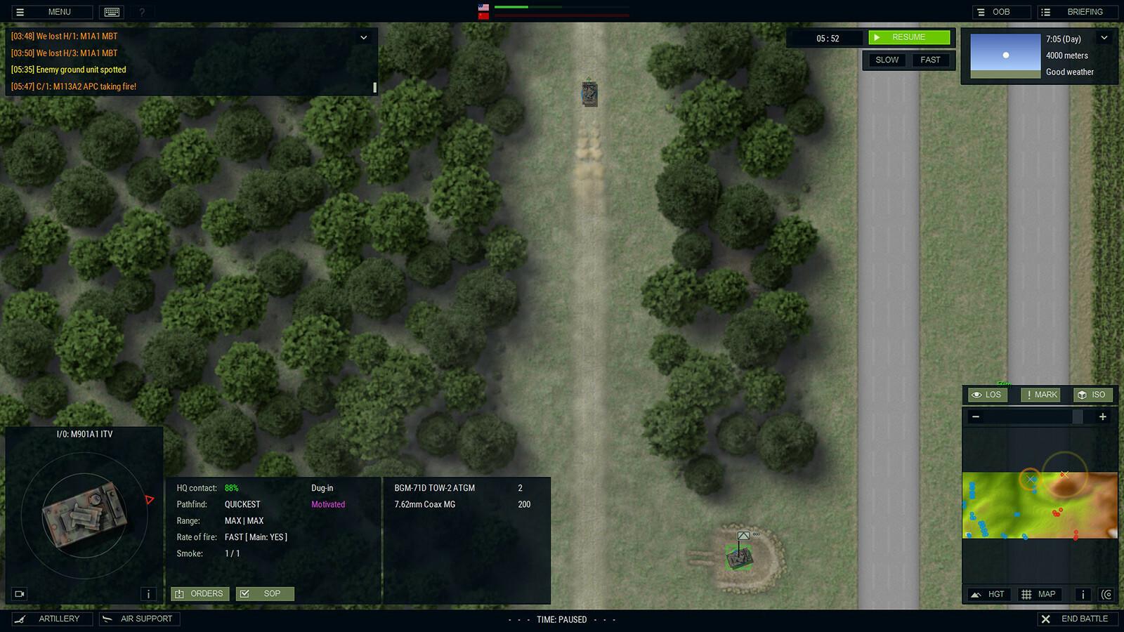 Armored Brigade Complete screenshot 1