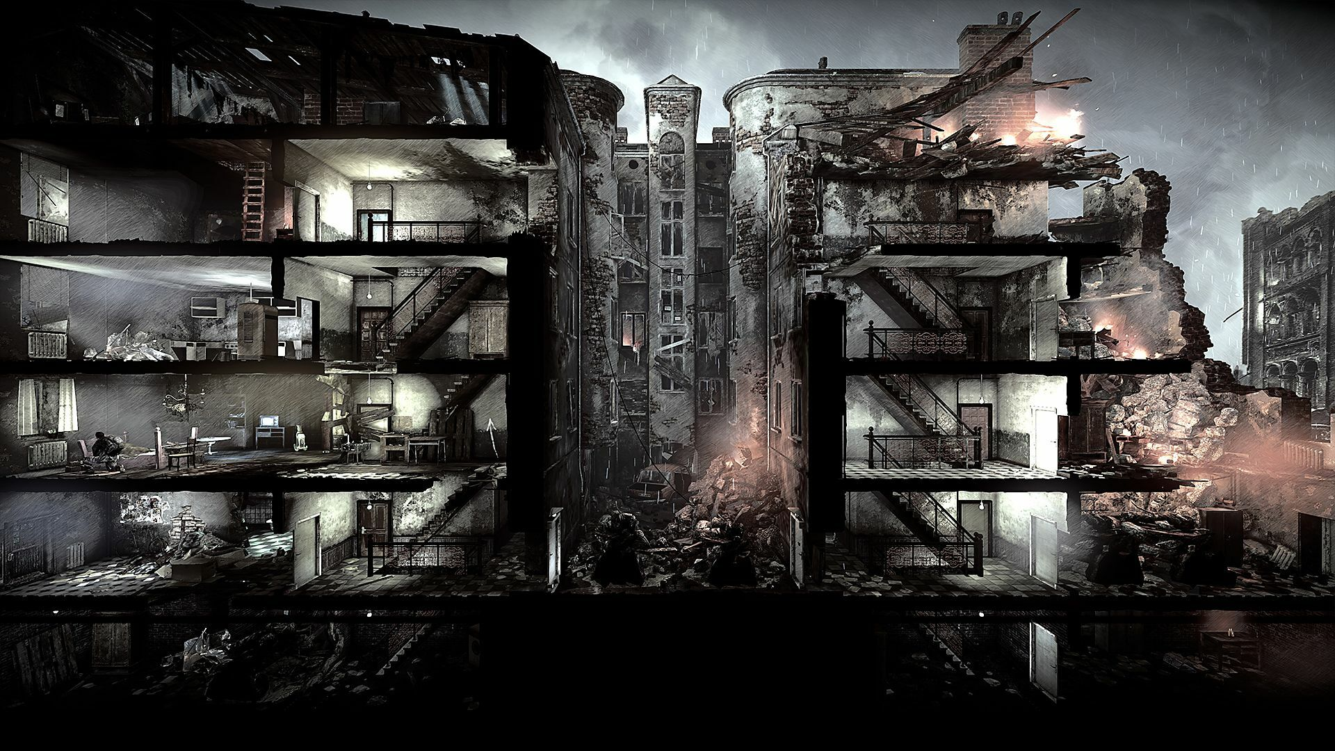 This War of Mine [GoG] [2014|Rus|Eng|Multi12]