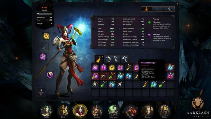 Aarklash: Legacy screenshot 3