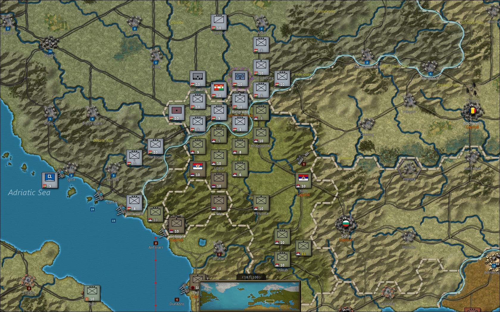 Strategic Command: World War I screenshot 1