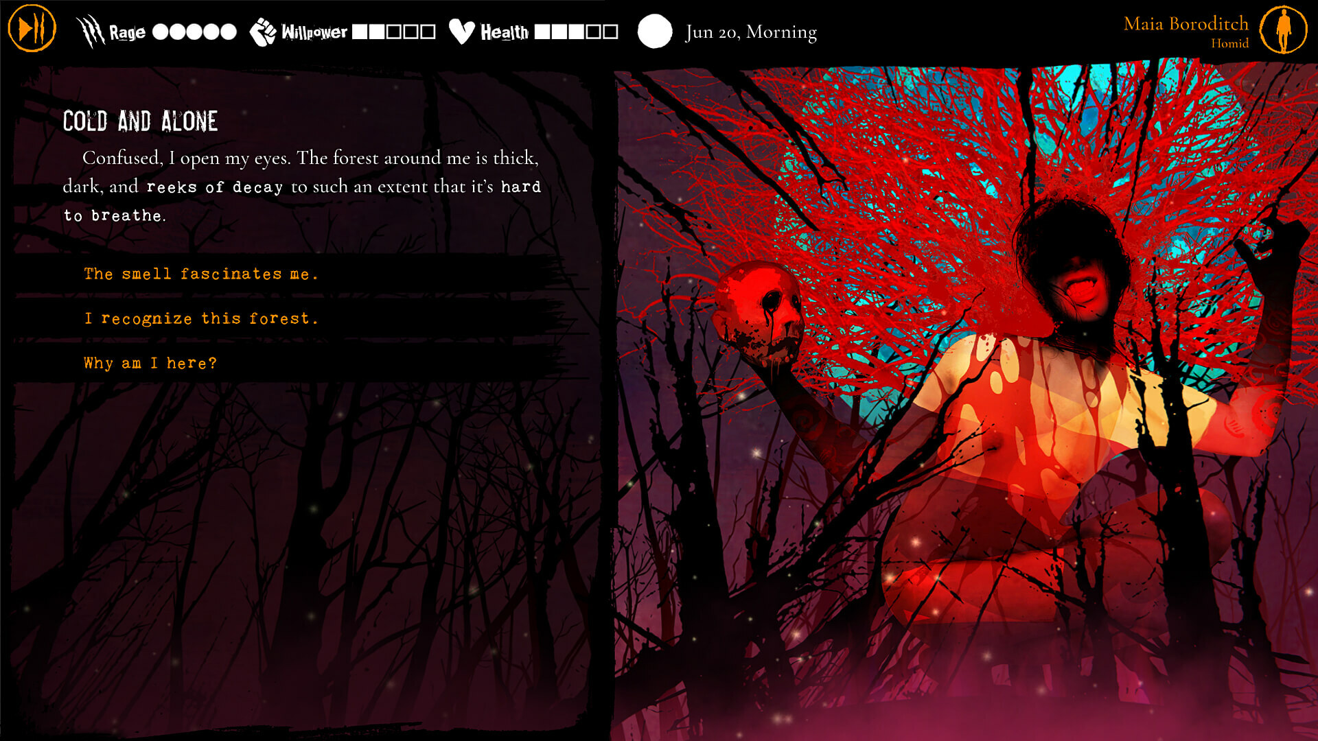 Werewolf: The Apocalypse - Heart of the Forest screenshot 1