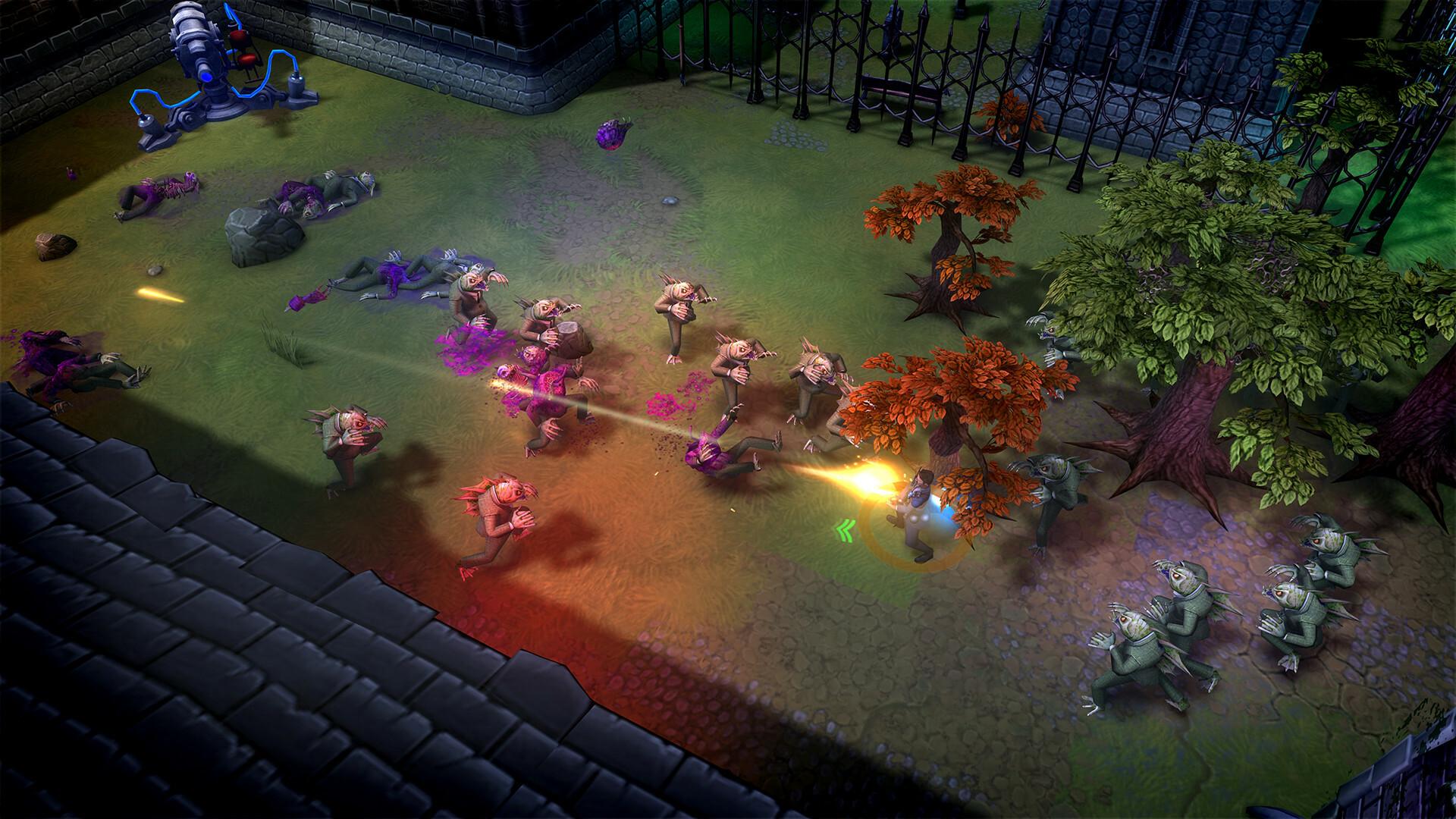 Tesla Force screenshot 1