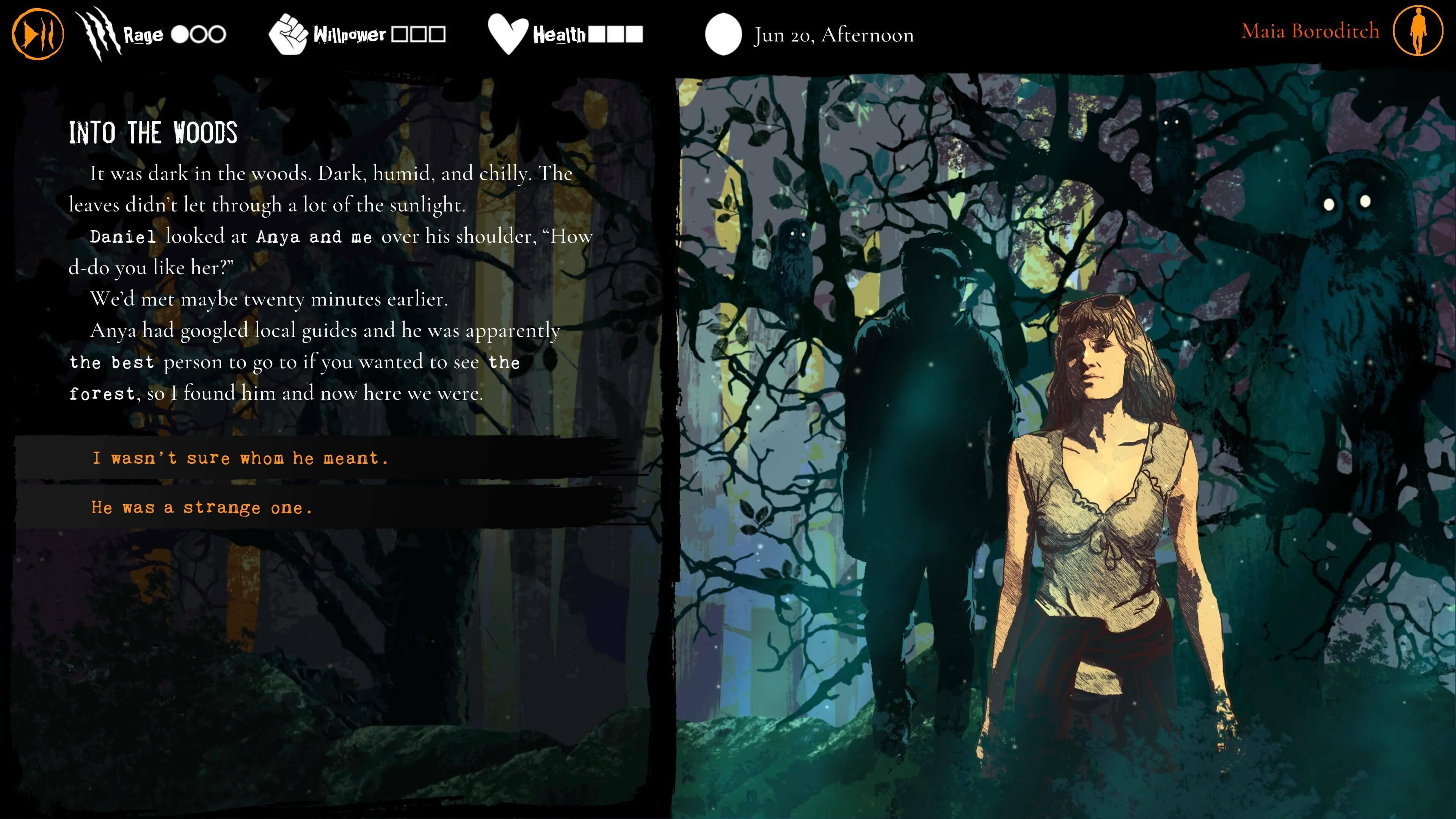 Werewolf: The Apocalypse - Heart of the Forest screenshot 3