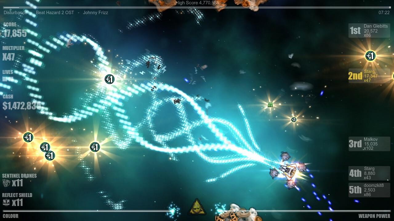 Beat Hazard Ultra + 2 [Anthology] screenshot 3