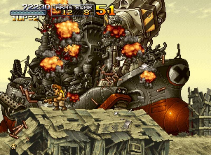 Metal Slug X screenshot 2