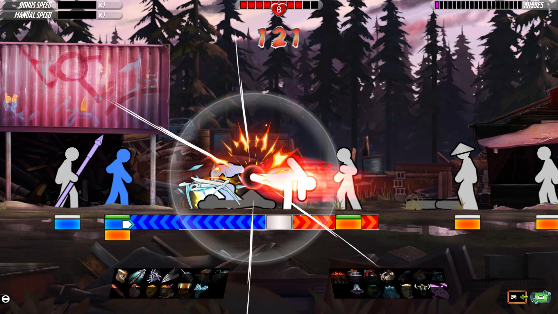 One Finger Death Punch 2 screenshot 1
