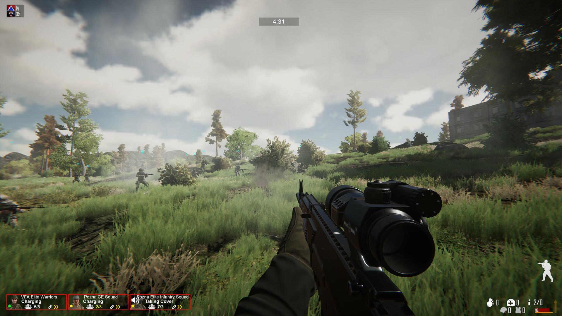 Freeman: Guerrilla Warfare screenshot 2
