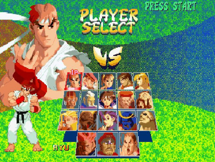 Street Fighter Alpha 2 screenshot 1