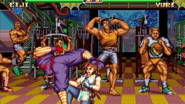 Art of Fighting 2 screenshot 1