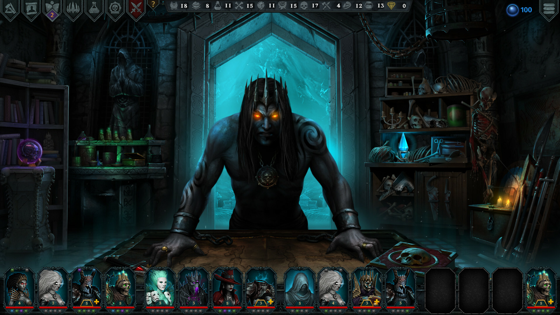 Iratus: Lord of the Dead screenshot 1