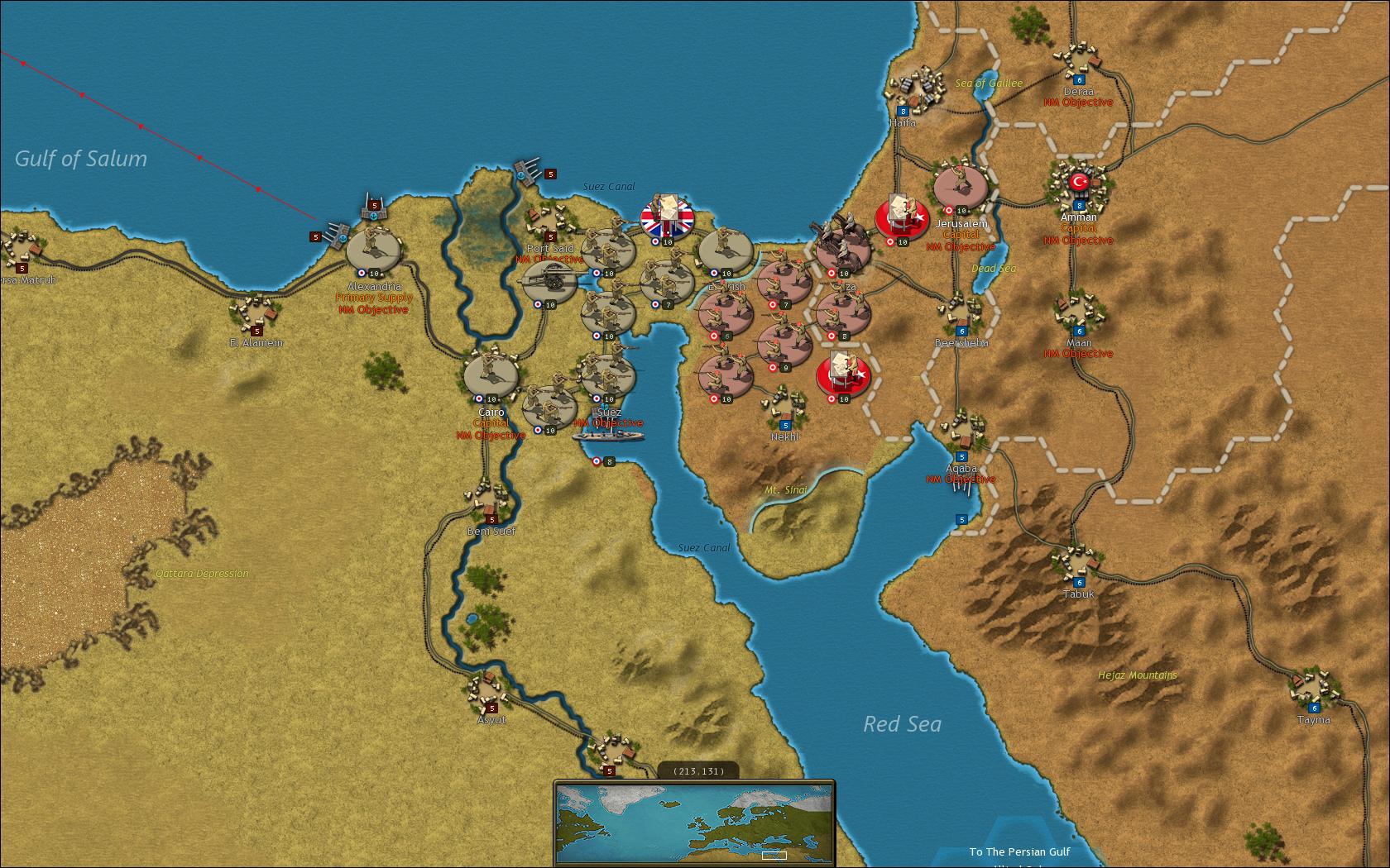 Strategic Command: World War I screenshot 2