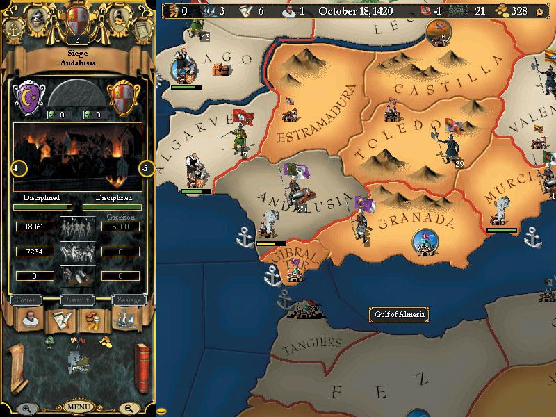 Europa Universalis II screenshot 1