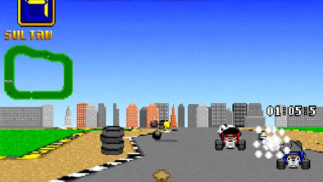 Wacky Wheels screenshot 2