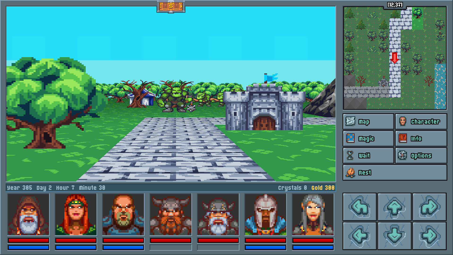 Legends of Amberland: The Forgotten Crown screenshot 1