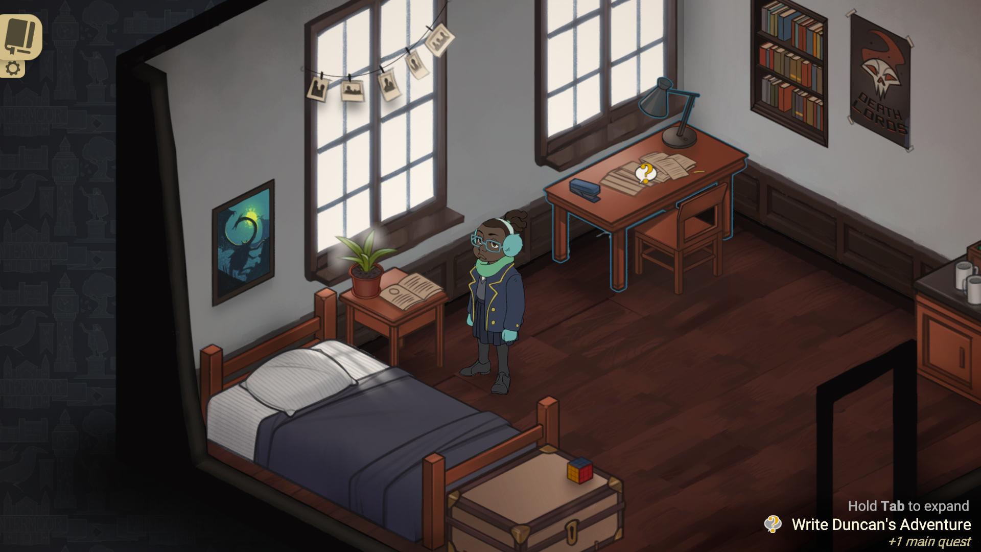 Wintermoor Tactics Club: Wintermost Edition screenshot 1