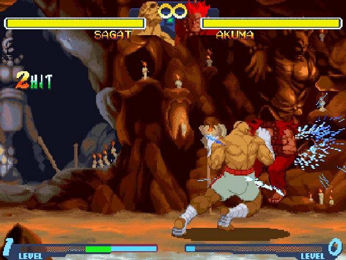 Street Fighter Alpha 2 screenshot 2