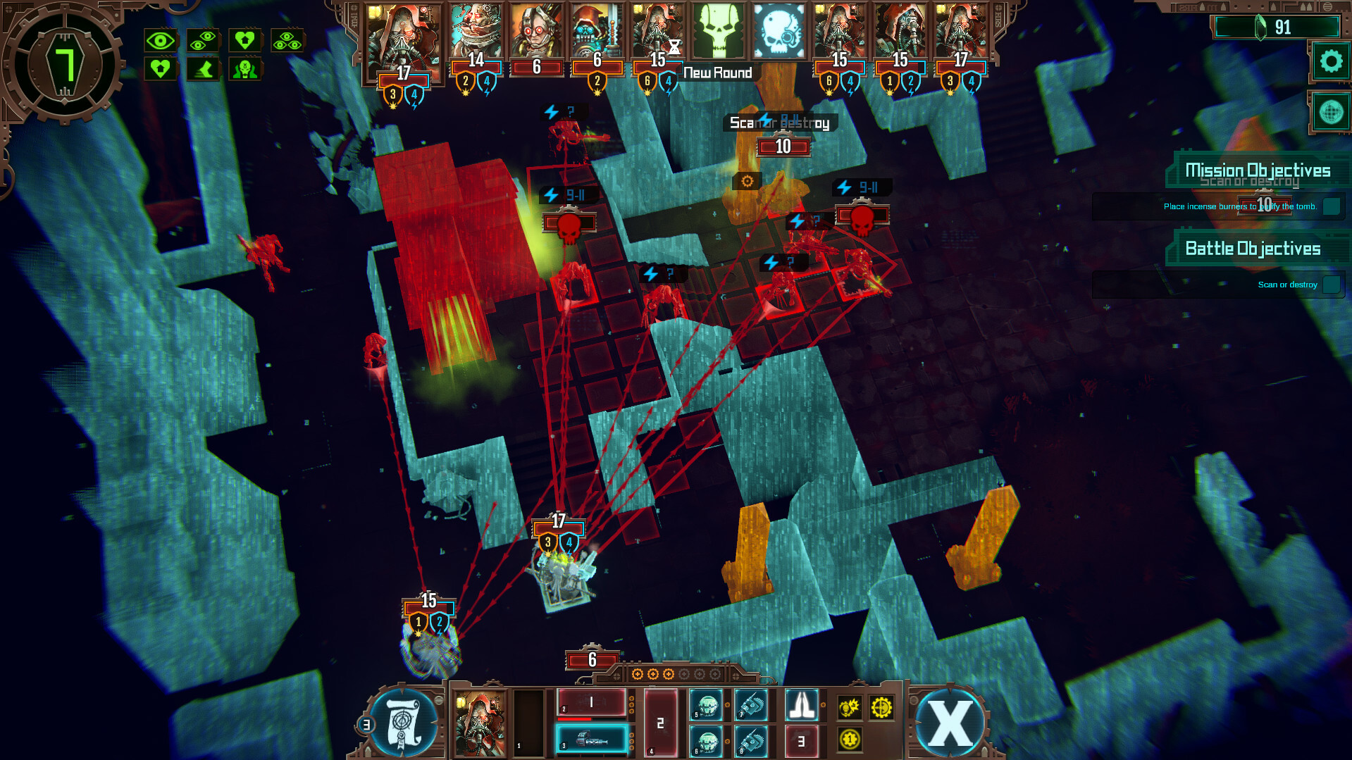 Warhammer 40000: Mechanicus - Omnissiah Edition screenshot 2