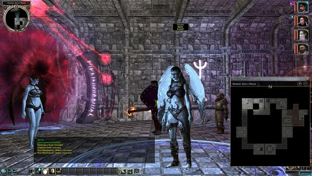 neverwinter nights 2 hosting a game