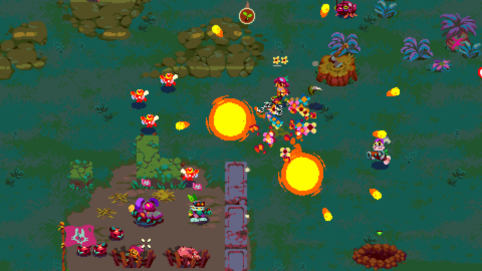 Atomicrops Deluxe Edition screenshot 1
