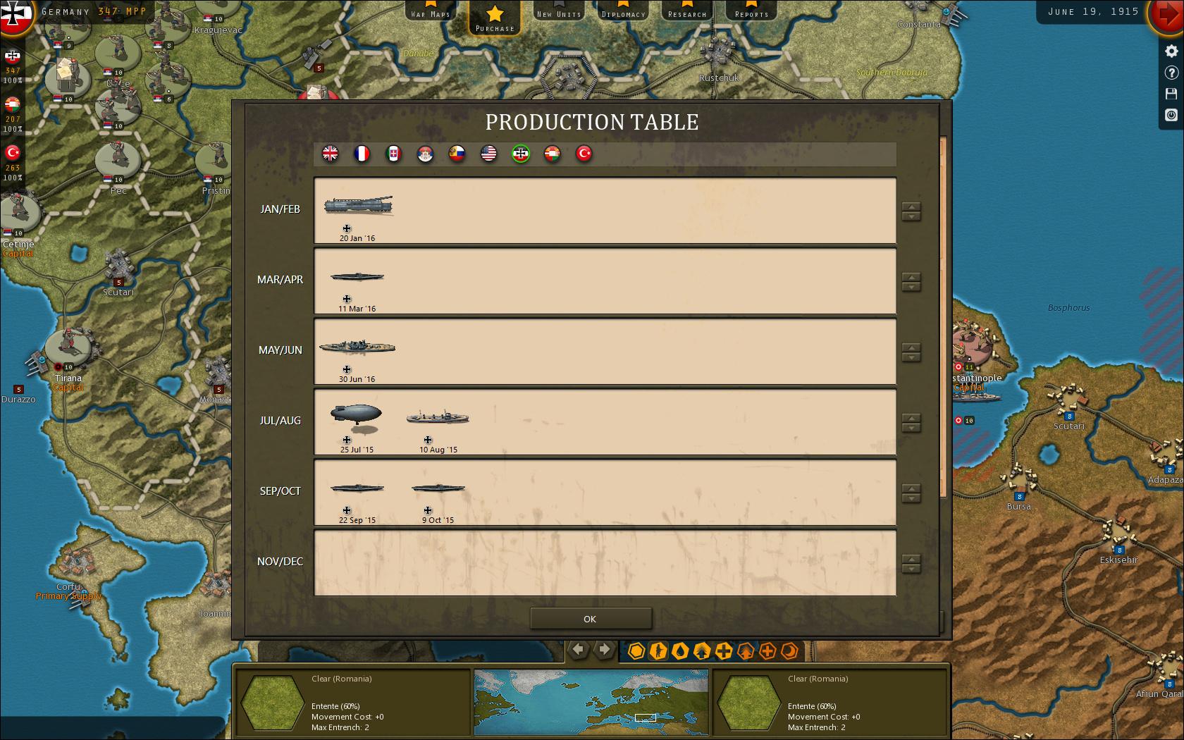 Strategic Command: World War I screenshot 3