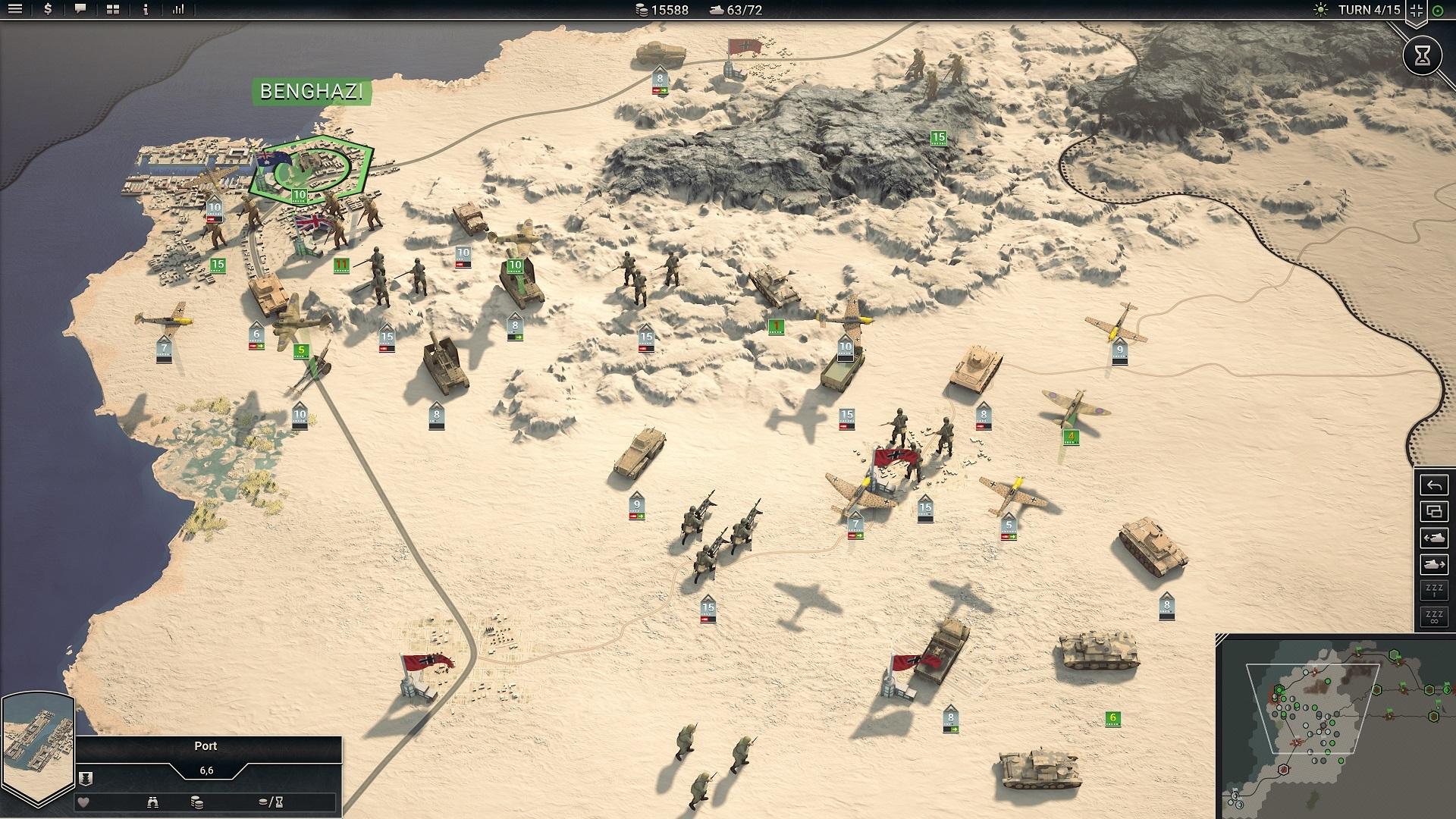 Panzer Corps 2 Field Marshal Edition screenshot 2