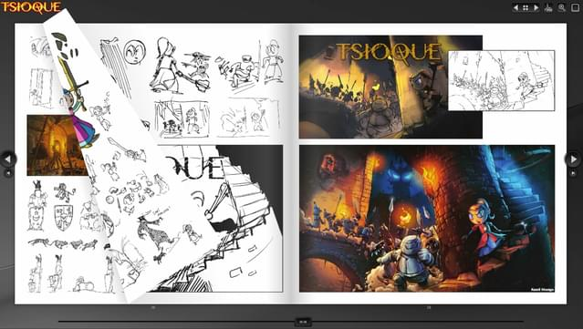 Tsioque - digital artbook download torrent