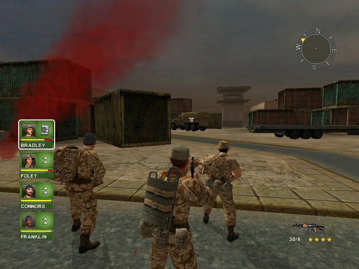 Conflict: Desert Storm screenshot 1