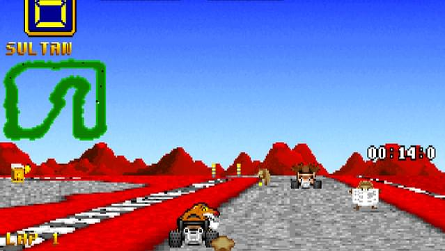 Wacky Wheels screenshot 3